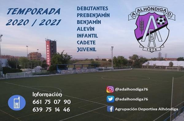 La A.D. Alhóndiga abre su periodo de inscripción para la temporada 2020/21