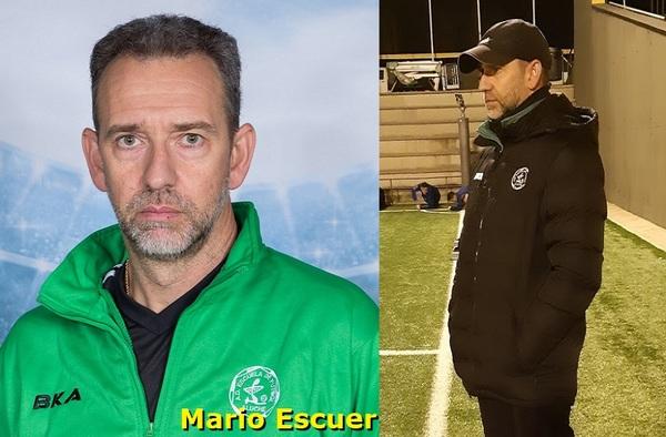 El entrenador Mario Escuer no seguirá en el banquillo de la EMF Aluche para la temporada 2020/21