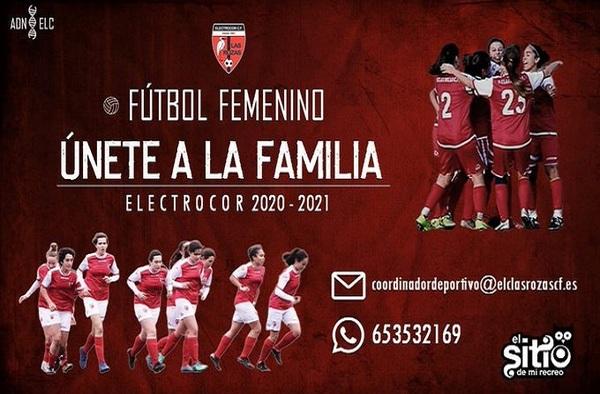 Únete al Electrocor Las Rozas Femenino para la temporada 2020/21