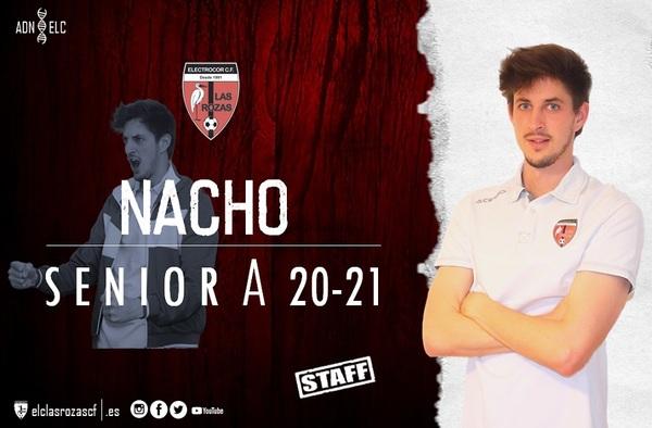 Electrocor Las Rozas reafirma su confianza en Nacho Pérez, que continuará por cuarta temporada a los mandos del primer equipo