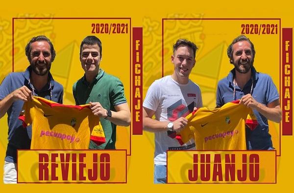 Juanjo y Reviejo, primeros fichajes del CUC Villalba para la temporada 2020/21