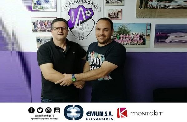 Óscar Gascón intentará el ascenso llevando las riendas de la A.D. Alhóndiga en la temporada 2020/21