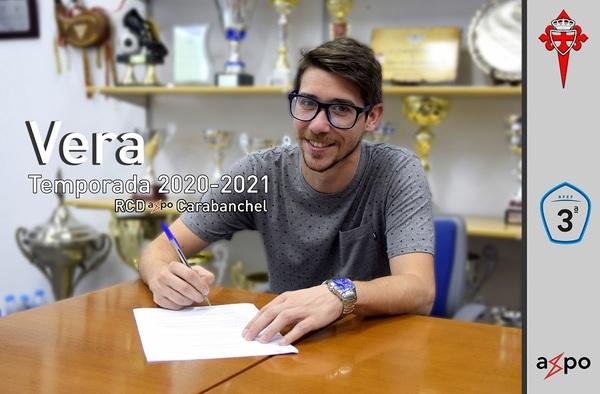 Vera, Jaime y Torres, tres primeras renovaciones del Real Carabanchel para la temporada 2020/21