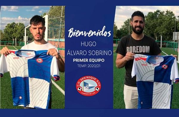 El C.D. San Roque firma a Juanjo, Hugo y Álvaro Sobrino para su proyecto 2020/21