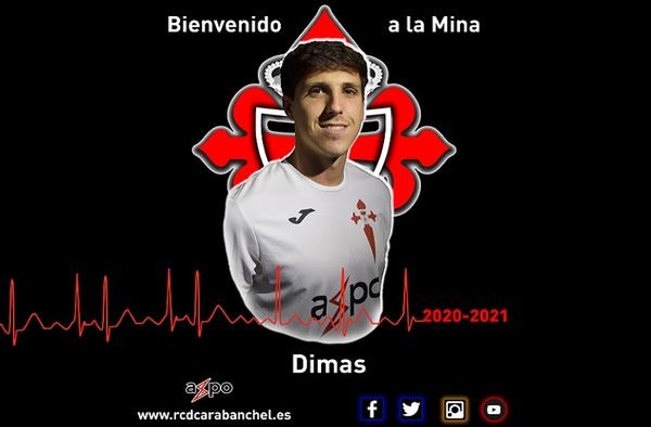 El Real Carabanchel anuncia su primer fichaje para la temporada 2020/21, llega Dimas