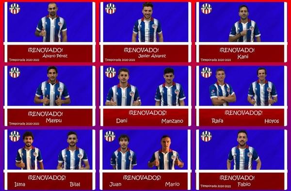 El Atlético Villalba informa de su plantilla para la temporada 2020/21