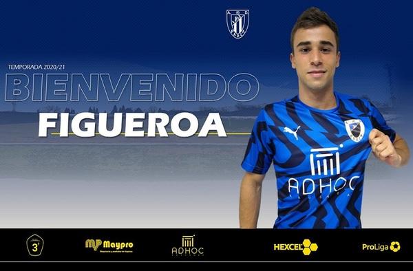 La A.D. Parla informa del fichaje de Figueroa para la temporada 2020/21