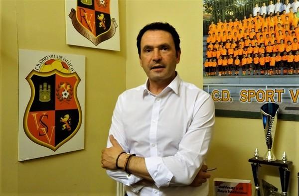 Entrevista a Juanmi Almagro, presidente del C.D. Sport Villa de Vallecas - Julio 2020