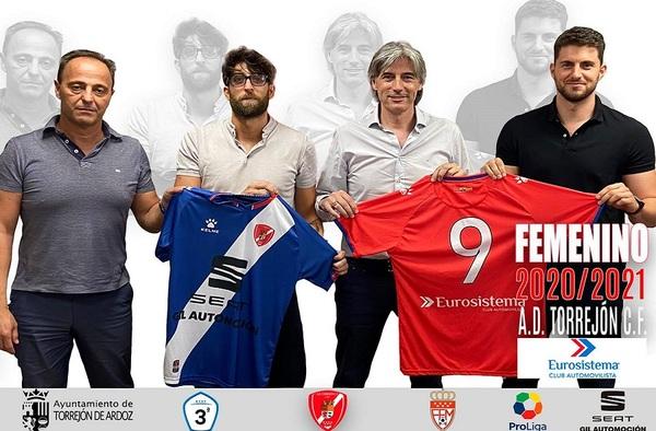 Nuevo cuerpo técnico para el Femenino de la A.D. Torrejón C.F. en la temporada 2020/21
