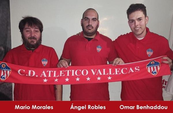 """Presentado el cuerpo técnico del C.D. Atlético Vallecas """"B"""" para la temporada 2020/21"""
