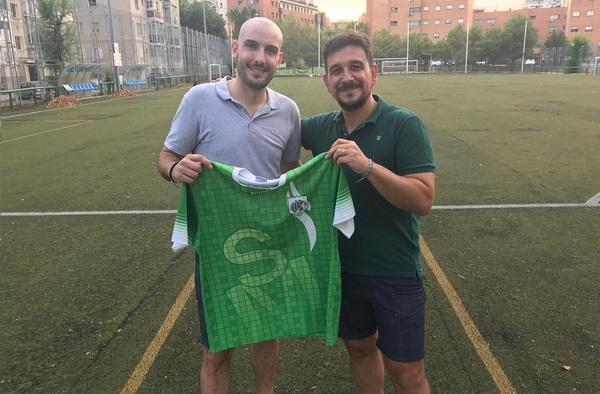 Nuevo entrenador en el C.D. Spartac de Manoteras para la temporada 2020/21, llega Joako Martín