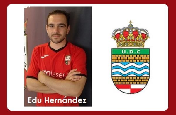 Edu Hernández, nuevo entrenador del U.D. Ciempozuelos para la temporada 2020/21