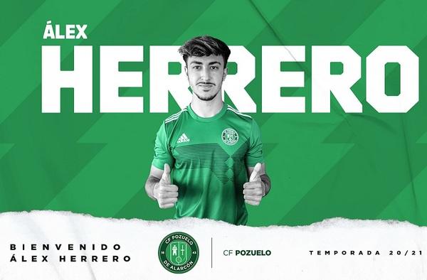 El joven cancerbero Álex Herrero firma por el C.F. Pozuelo de Alarcón