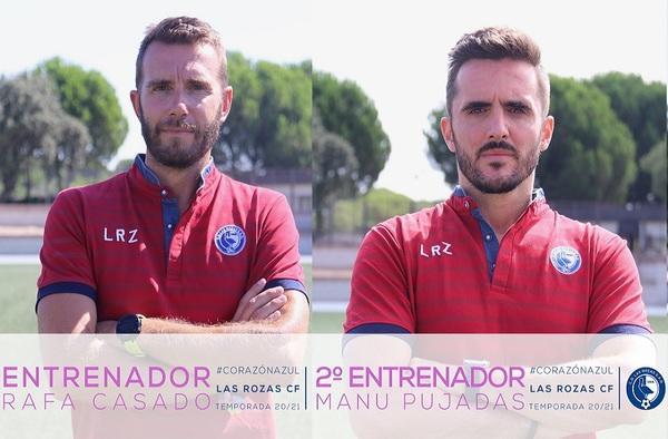 Rafa Casado seguirá siendo el técnico del filial de Las Rozas tras el ascenso de categoría