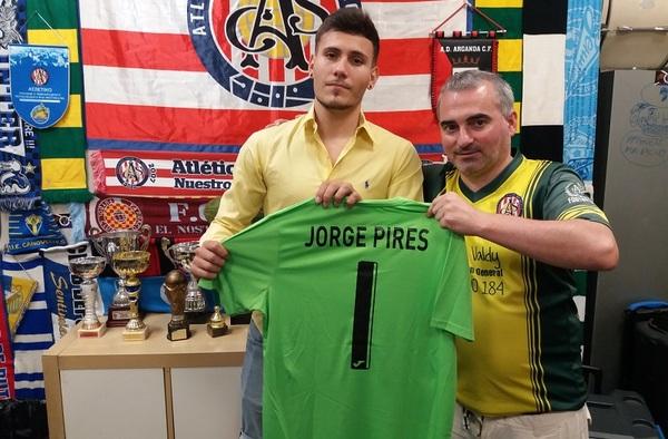 Jorge Pires regresa a la portería del Atlético Club de Socios para la temporada 2020/21