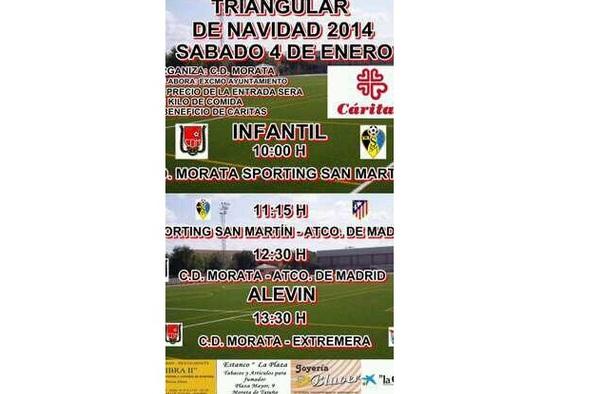 Triangular de Navidad 2014 - C.D. Morata ( Sábado 4 de enero de 2014 )