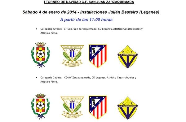 I Torneo de Navidad C.F. San Juan Zarzaquemada