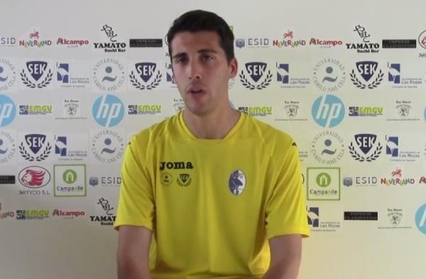 "Vídeo entrevista a Alejandro Casares, entrenador de Las Rozas ""E"" Cadete"