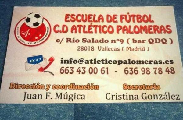 La Escuela de Fútbol Atlético Palomeras tiene plazas para la nueva temporada