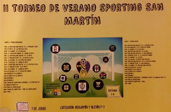II Torneo de Verano Sporting San Martín ( Sábado 7 de Junio de 2014 )