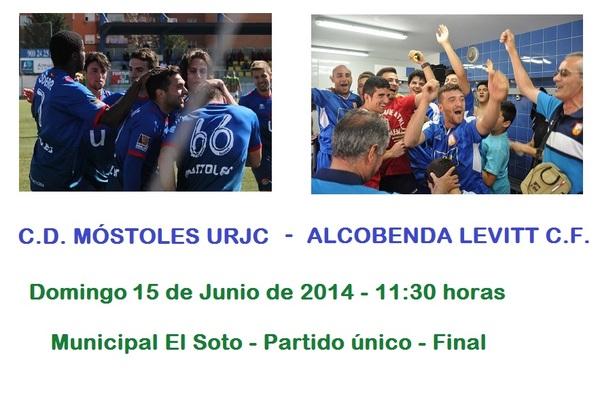 Final de campeones de preferente cd m stoles urjc for Piscina el soto mostoles