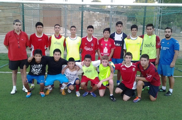 El A.J.D.C. La Mancha Juvenil se presentó el 26 de Agosto de 2014