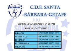 Santabarbaragetafeescuela1415portada