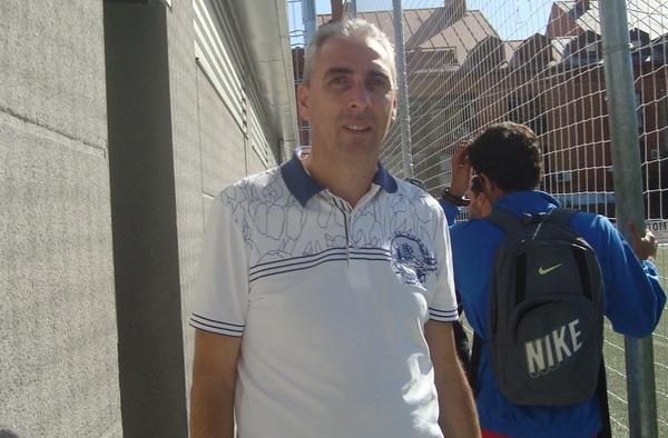 Entrevista a Alberto Santos, entrenador del C.D. El Álamo