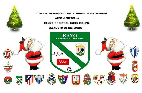 I Torneo de Navidad Rayo Ciudad de Alcobendas ( sábado 27 de Diciembre de 2014)