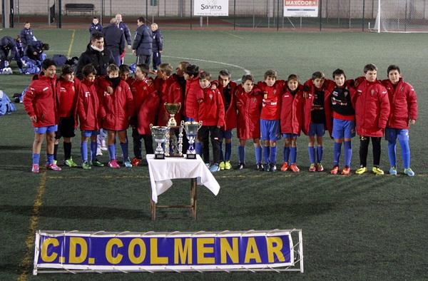 Rotundo éxito del Torneo C.D. Colmenar de Oreja