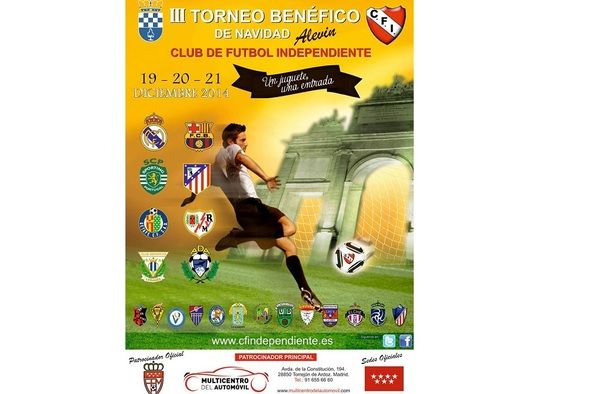 III Torneo Benéfico de Navidad del C.F. Independiente de Nuevo Baztán