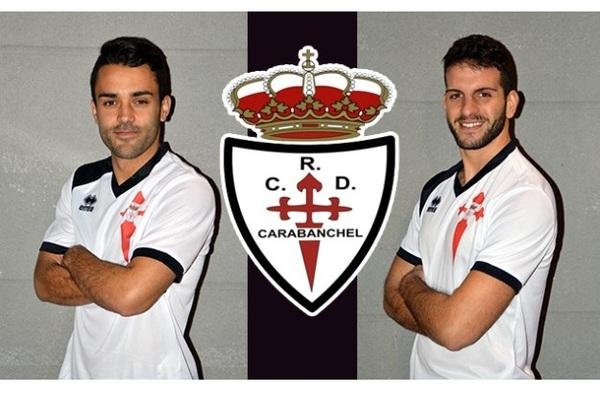 Alaín y Yuste, nuevos jugadores del Real C.D. Carabanchel
