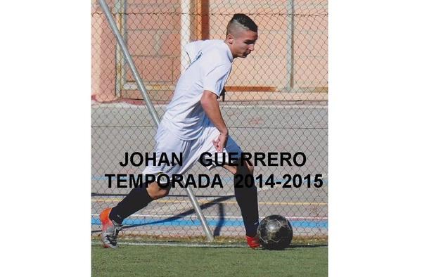 El joven delantero Johan debutó en el C.D. Fortuna de Paco Álvarez