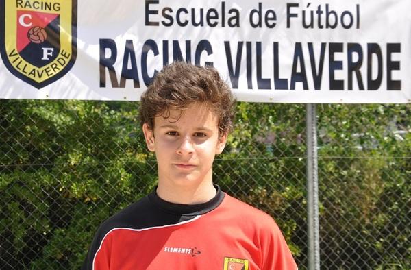Entrevista a Gonzalo, jugador Alevín del Racing Villaverde y máximo goleador de su liga