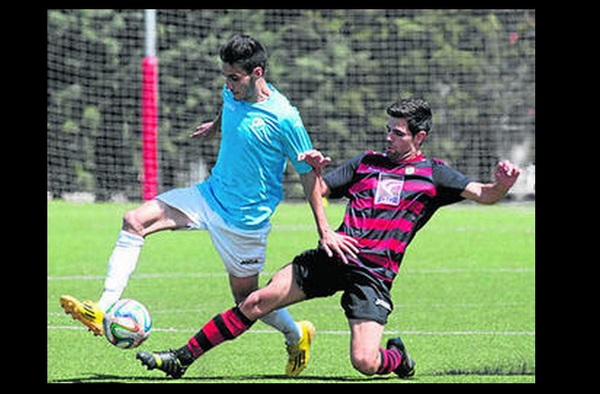 Fútbol Alcobendas Sport 1 - 0 CLC Gerena  (Playoff de Ascenso 2ª B - ida - Temporada 2014/15)