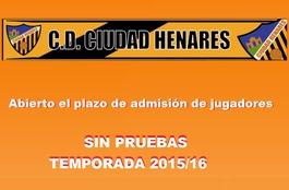 Ciudadhenaresadmisionjugadores2015