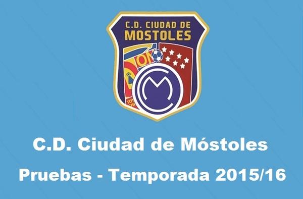 El Ciudad de Móstoles realiza pruebas para jugadores en todas las categorías para la temporada 2015/16