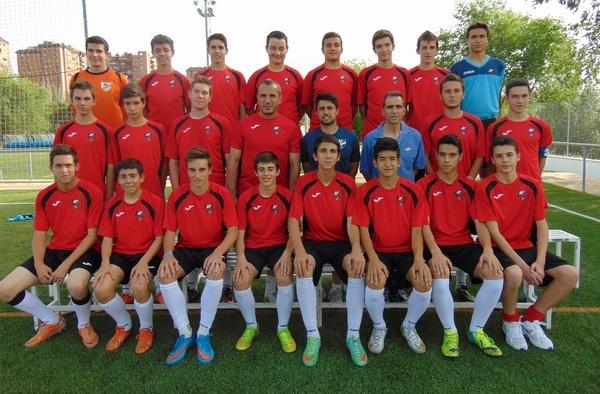 El equipo Cadete del Club Fuentelarreyna consigue el ascenso a Preferente (Temporada 2014/15)