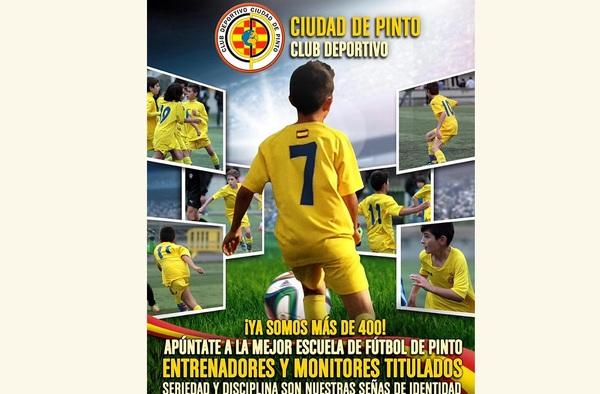 El C.D. Ciudad de Pinto busca jugadores, en especial Porteros - Temporada 2015/16