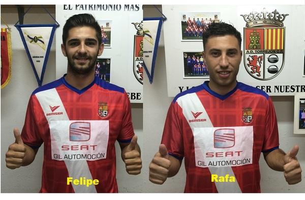 Felipe González y Rafa Martínez, nuevas incorporaciones del Torrejón de José Gallardo