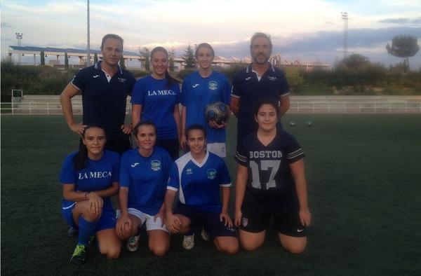 El equipo Femenino de La Meca de Rivas Juvenil busca jugadoras para la temporada 2015/16