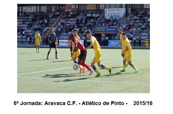El Atlético Pinto a recuperar las buenas sensaciones en Aravaca