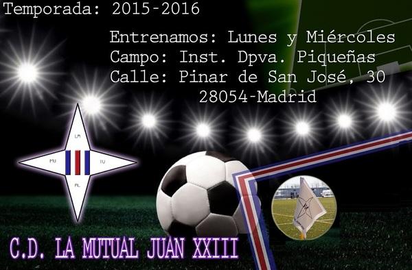La Mutual Juan XXIII necesita porteros y jugadores para diferentes categorías