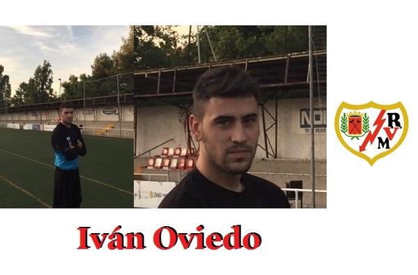 Los problemas del Rayo Vallecano en la portería llevan a Iván Oviedo al filial rayista