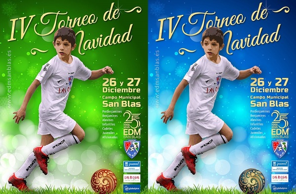 En marcha el IV Torneo de Navidad de F7 y F11 - E.D.M. San Blas