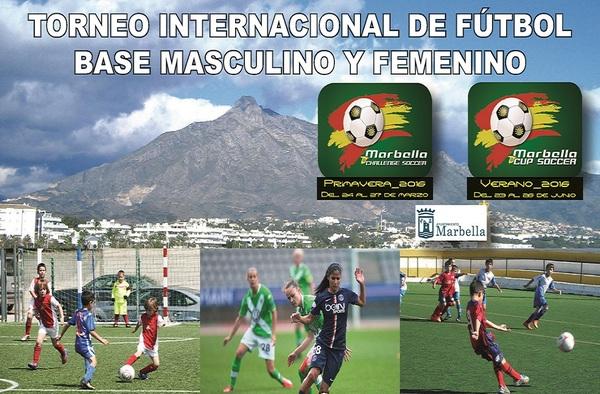 """Llega a Marbella un nuevo Torneo de Fútbol Internacional, """"Marbella Cup Soccer"""""""