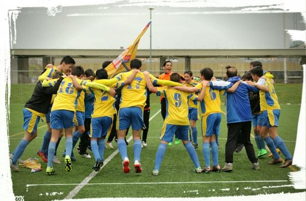 Segundo campeonato consecutivo del C.F. Collado Villalba Infantil