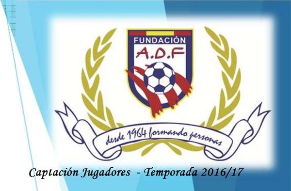 El Fundación ADF busca jugadores infantiles, cadetes y juveniles - Temporada 2016/17