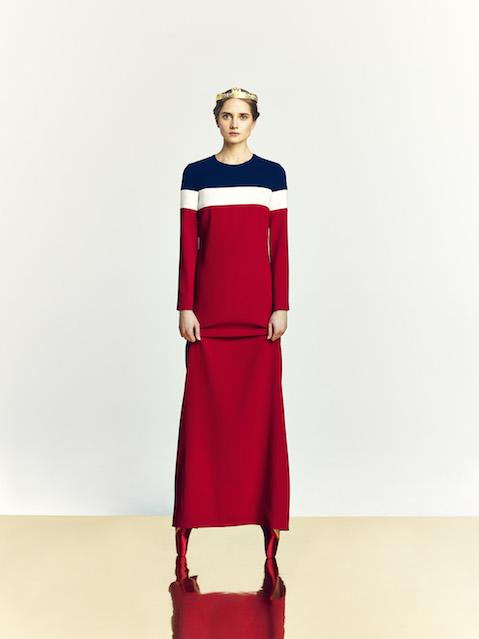 A La Russe dress