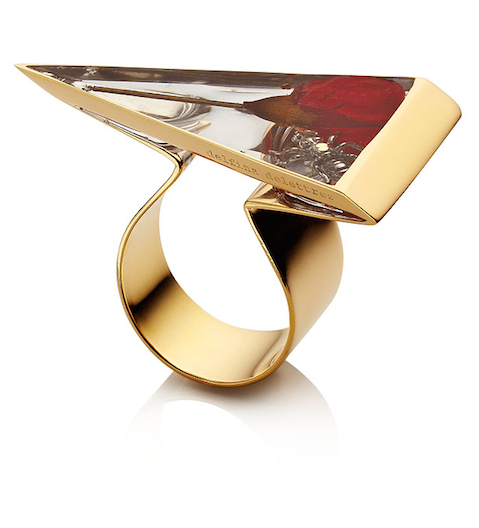 Delfina Delettrez gold ring